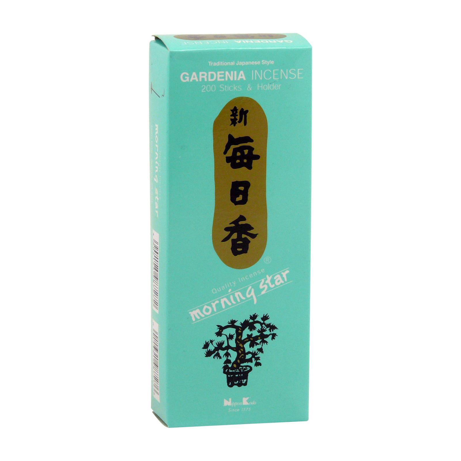 Nippon Kodo Vonné tyčinky japonské Morning Star Gardenia 200 ks