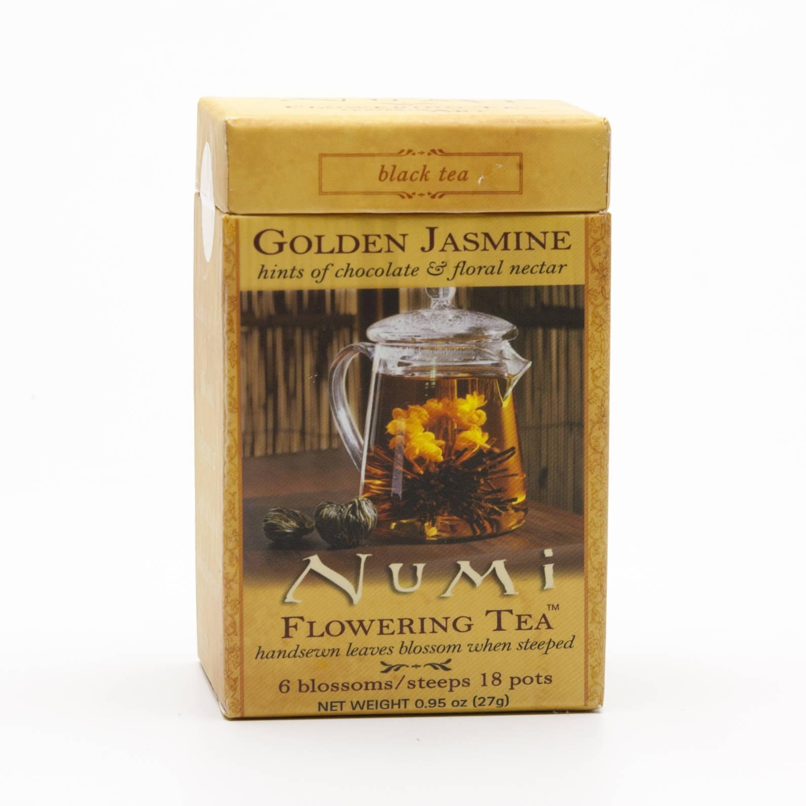 Numi Kvetoucí čaj Golden Jasmine 6 ks