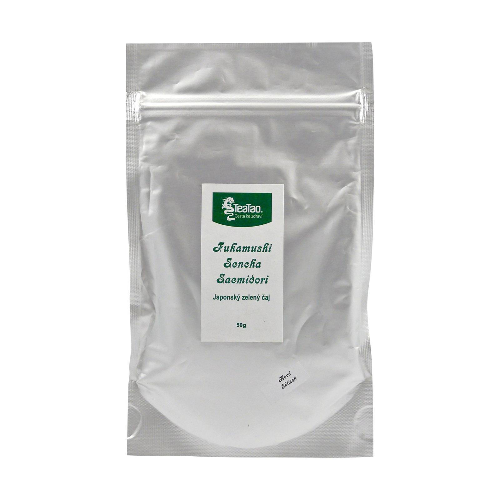 TeaTao Zelený čaj Fukamushi Sencha Saemidori 50 g