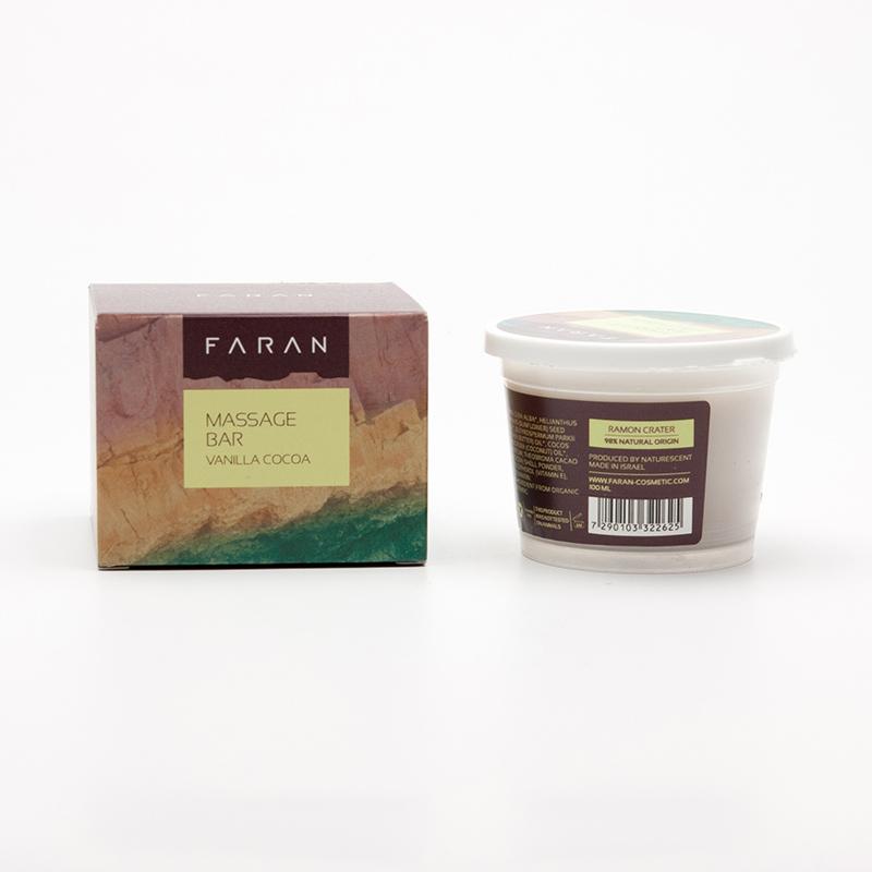 Faran Masážní blok French Vanilla / Cocoa 100 ml