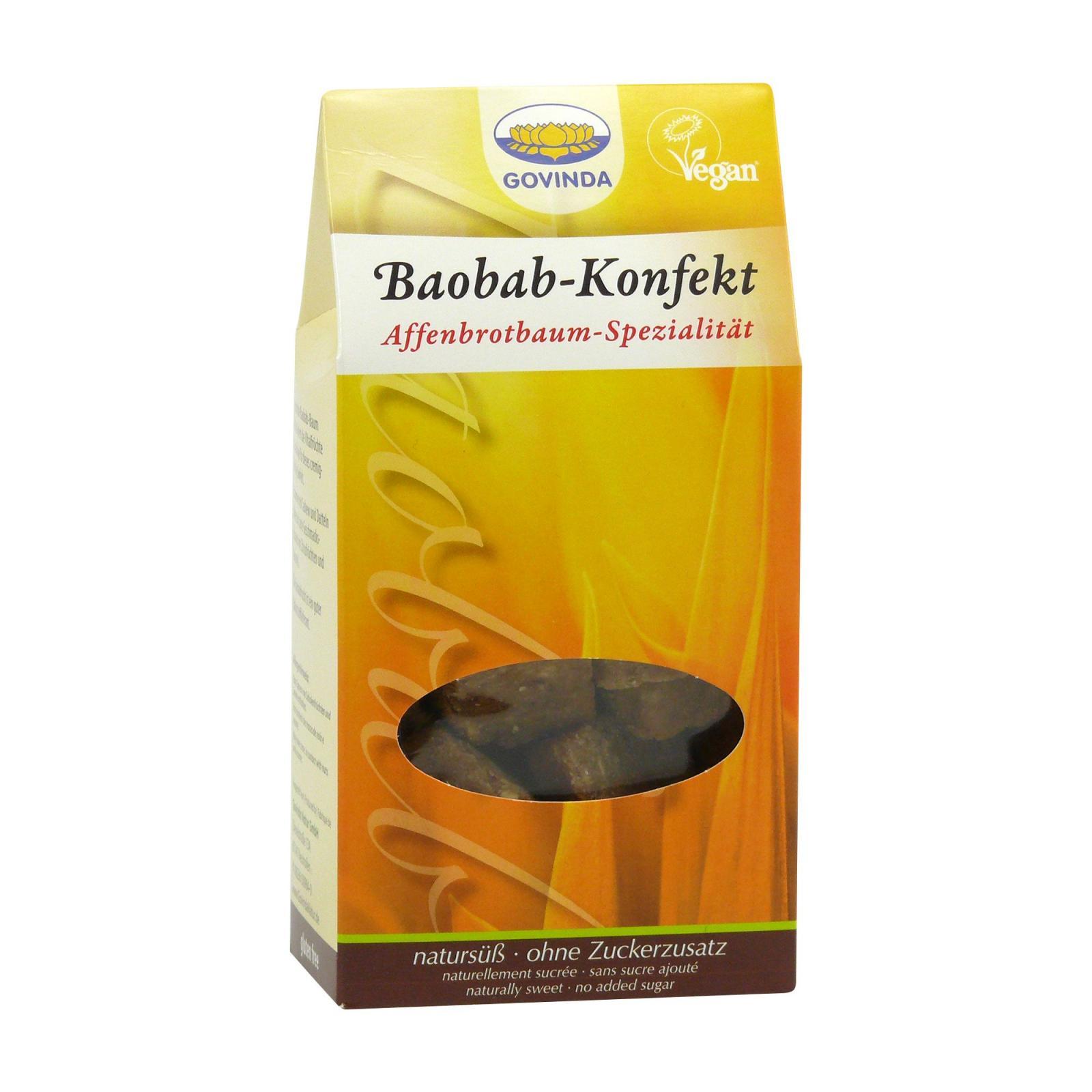 Govinda Datlové cukroví s baobabem 120 g