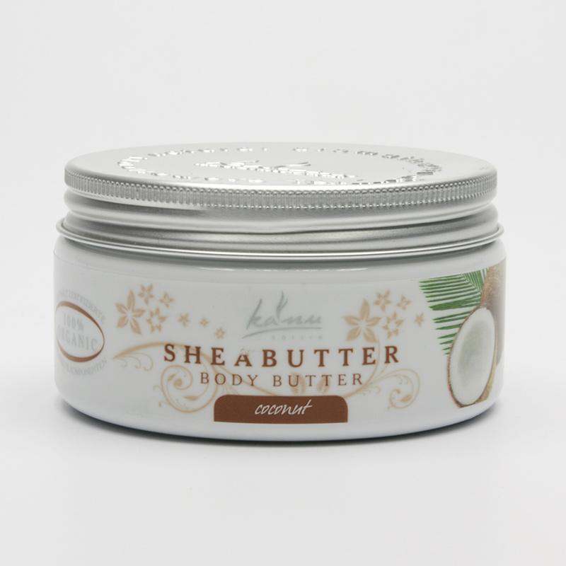 Kanu  Výprodej Tělové máslo kokos 190 g
