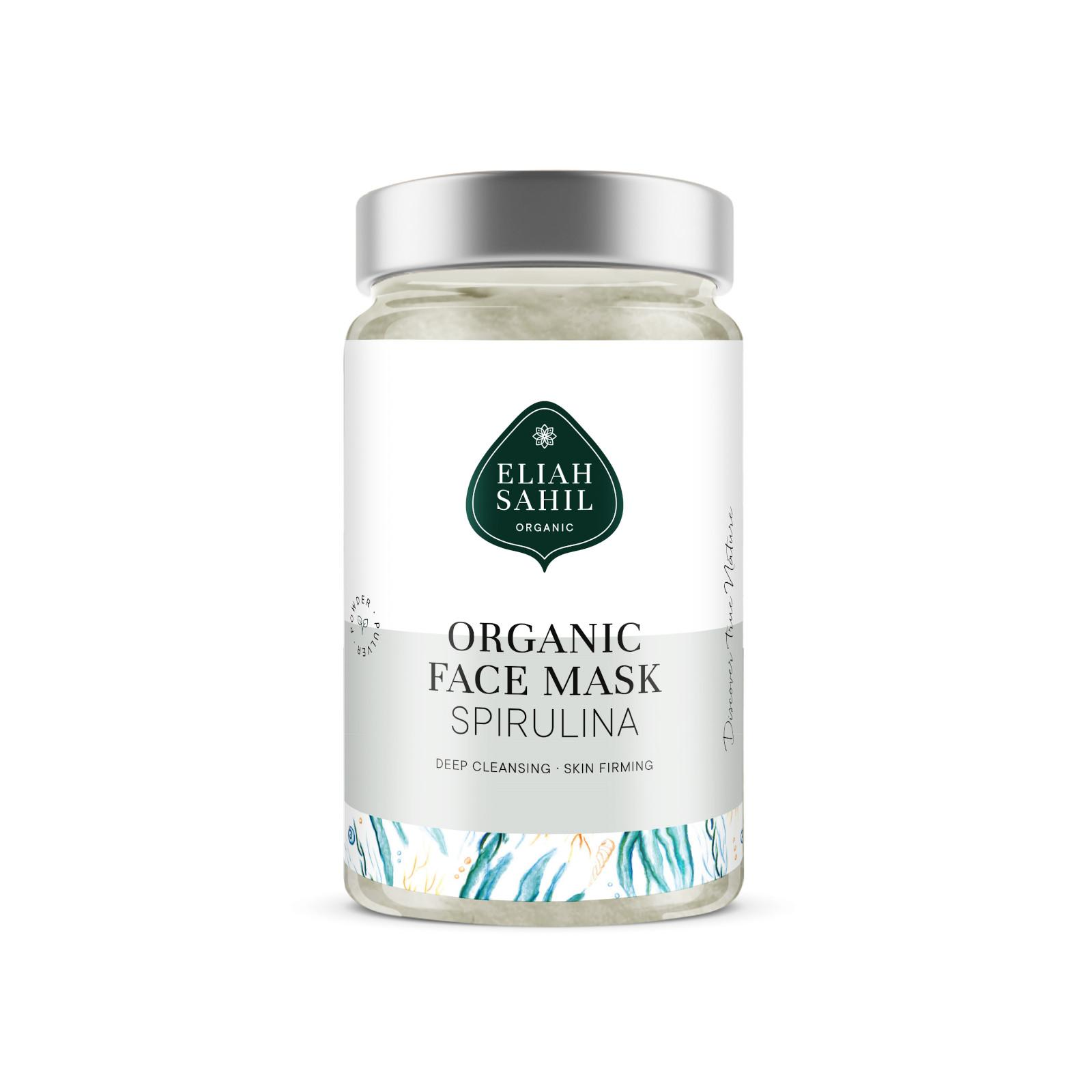 Eliah Sahil Organic Pleťová maska spirulina 100 g