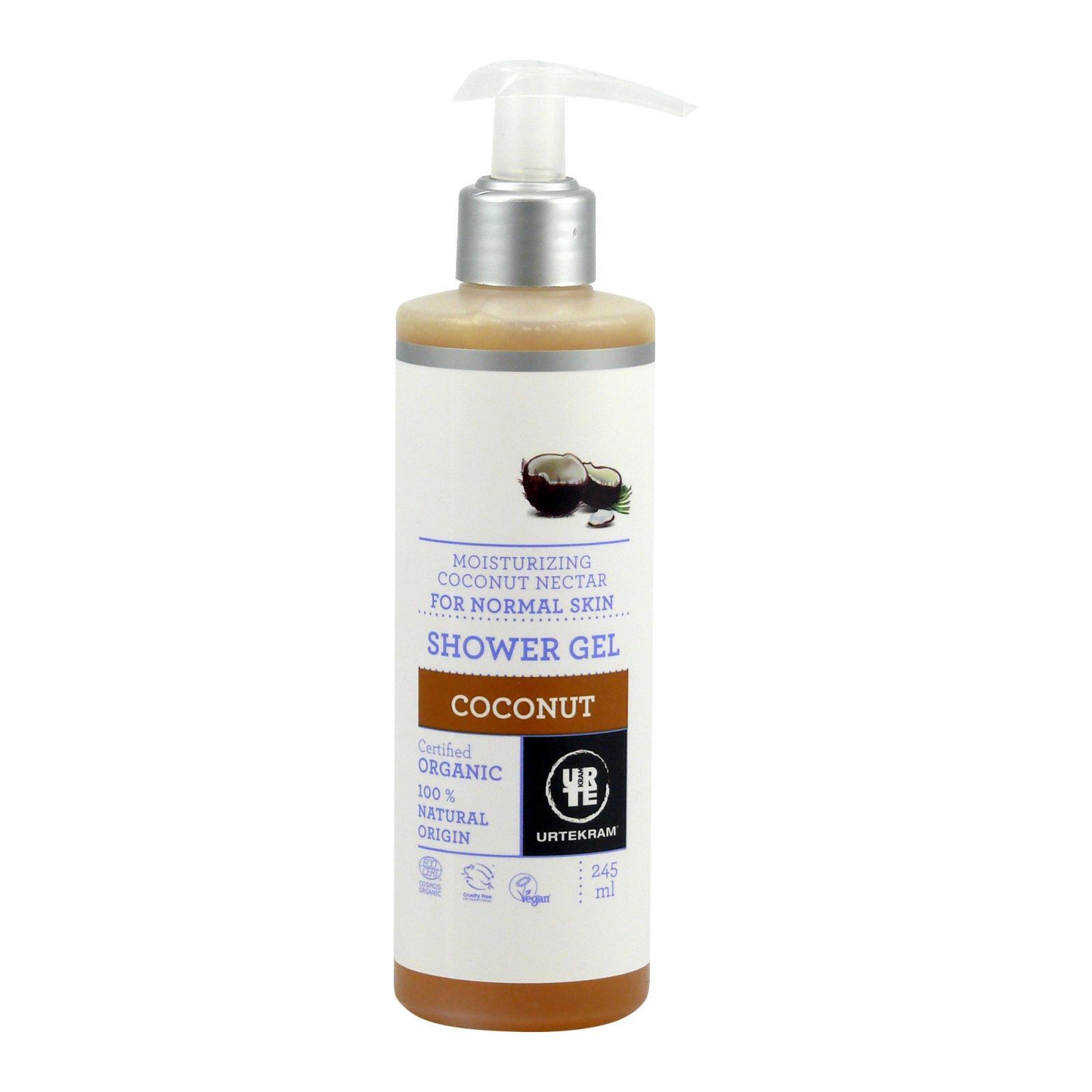 Urtekram Sprchový gel kokosový 245 ml