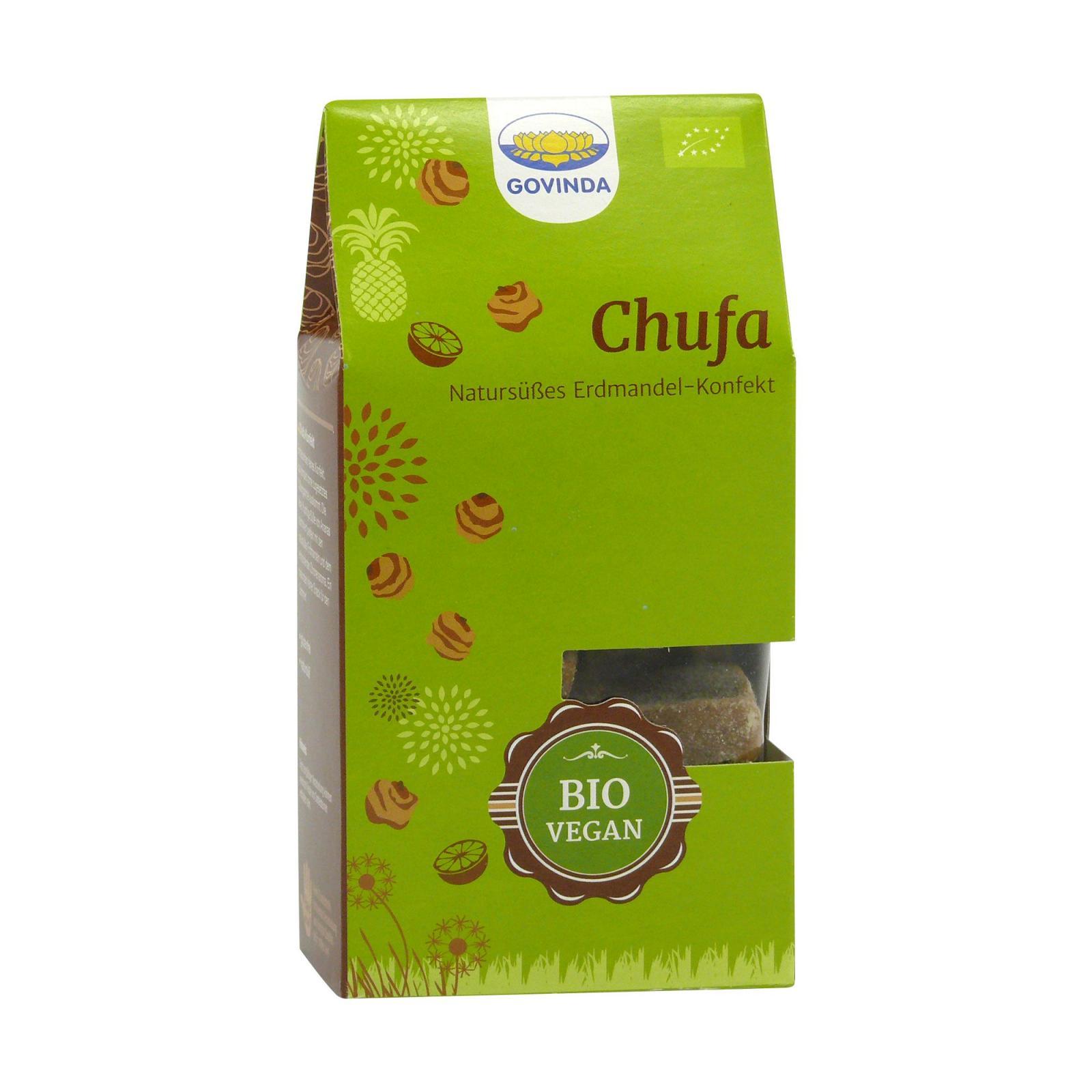 Govinda Datlové cukroví s mandlemi Chufa 120 g