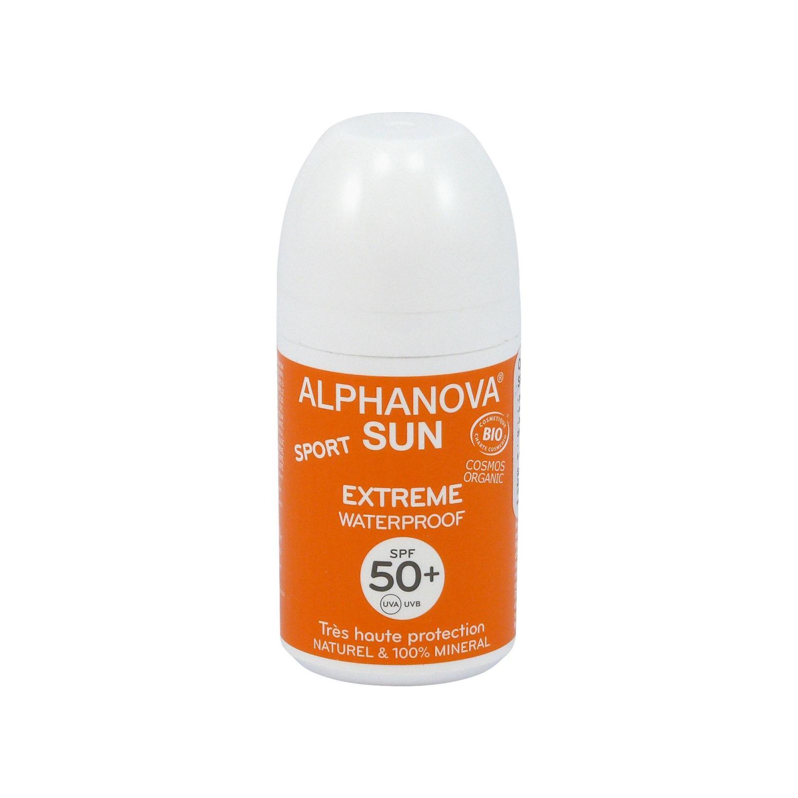 Alphanova Opalovací krém roll-on SPF 50+ 50 g