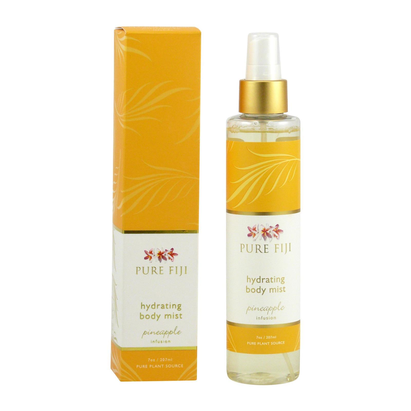 Pure Fiji Hydratační tělový sprej, ananas 207 ml