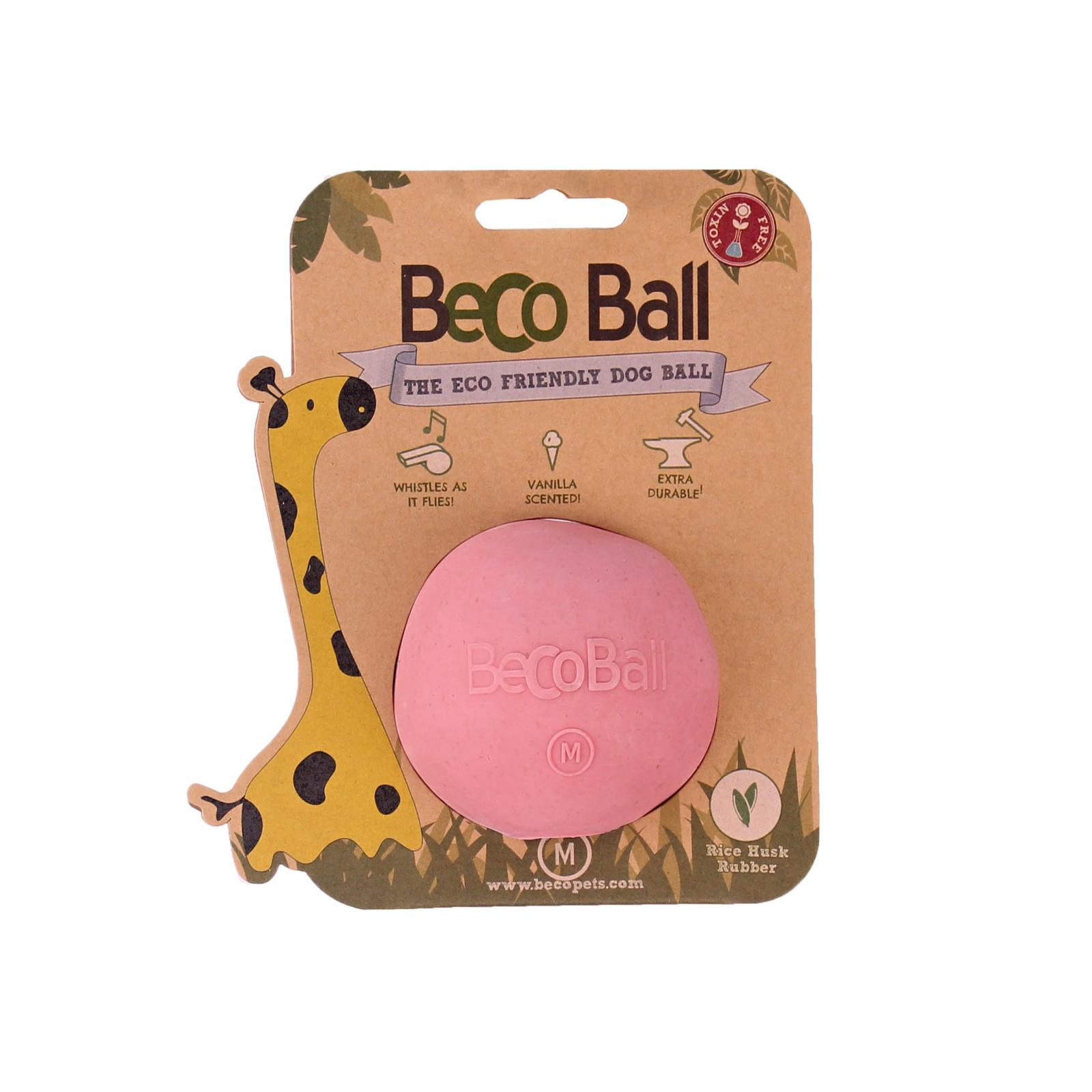 Beco Pets Beco Ball Medium 1 ks, růžová