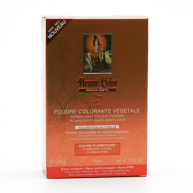 Henné Color Henna Měděná, Premium Végétal 100 g