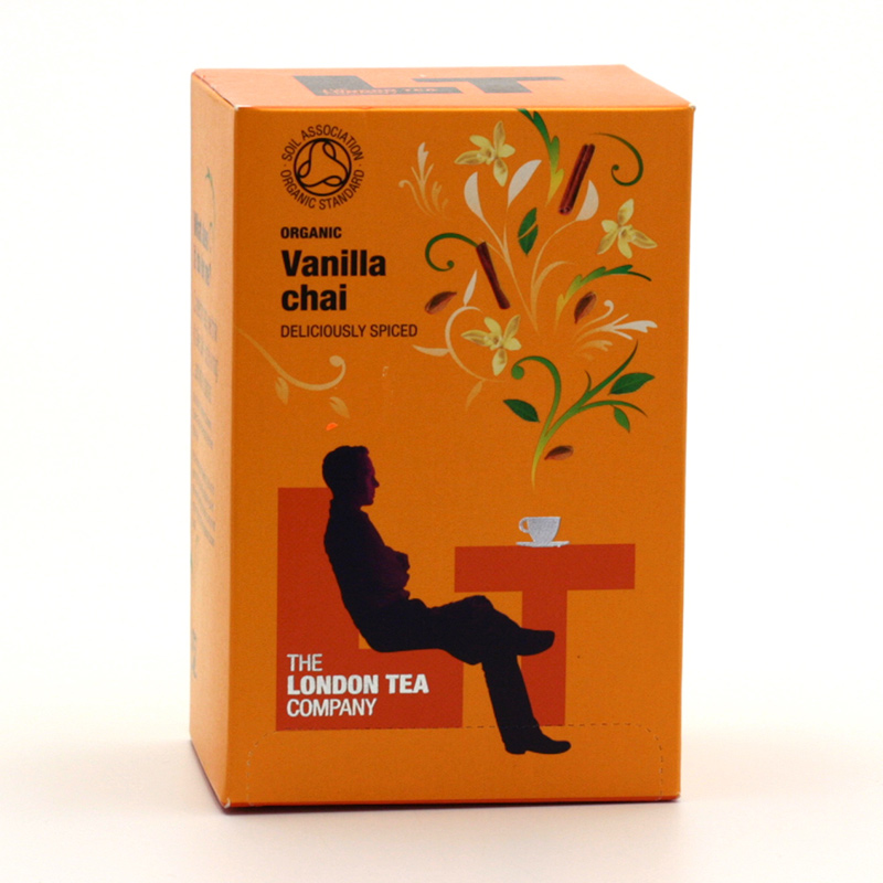 London Tea x Čaj Vanilla Chai 20 ks, 40 g