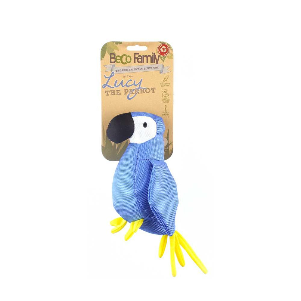 Beco Pets Beco Plush Toy Parrot 1 ks