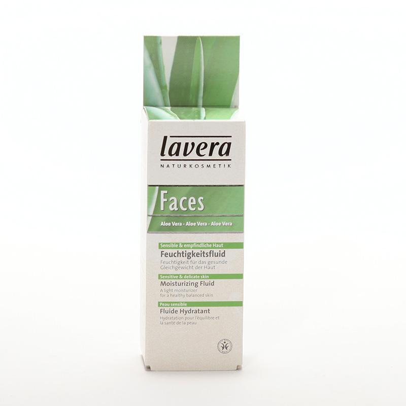 Lavera xxHydratační fluid aloe vera, Faces 30 ml