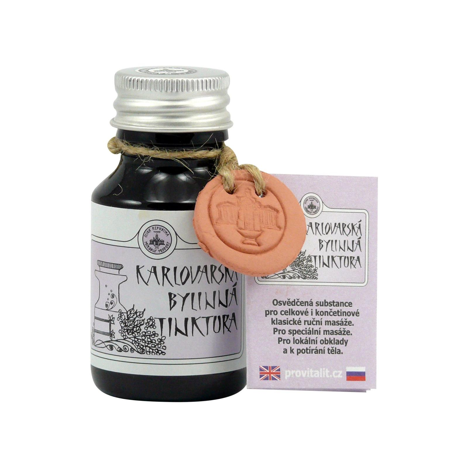 Karlovarské Bahenní Lázně Karlovarská bylinná tinktura 50 ml