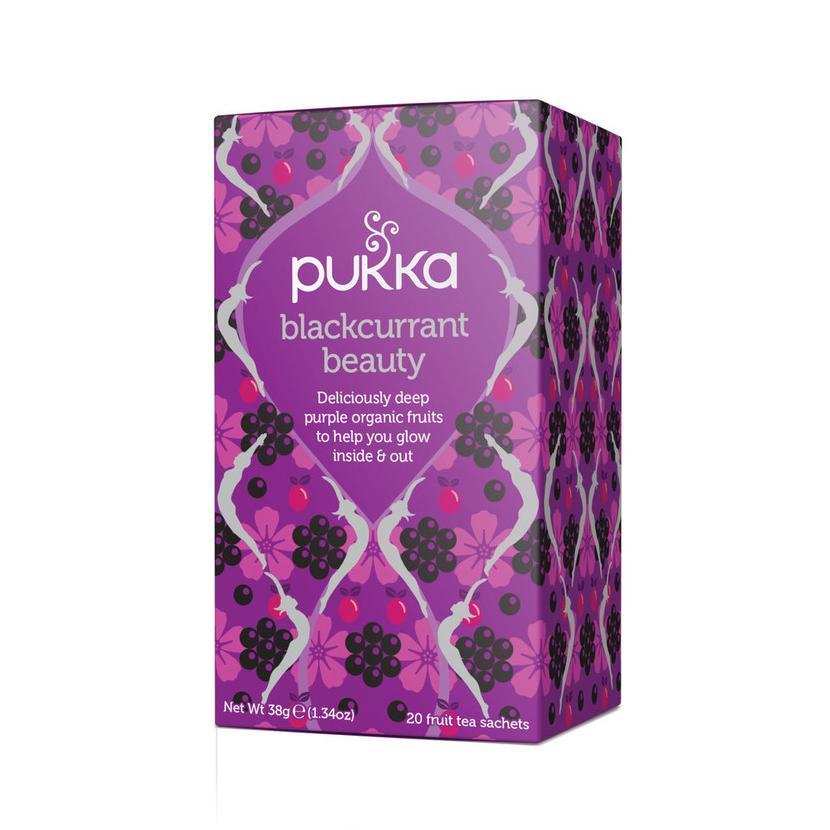 Pukka Čaj ayurvédský Blackcurrant Beauty 20 ks, 38 g