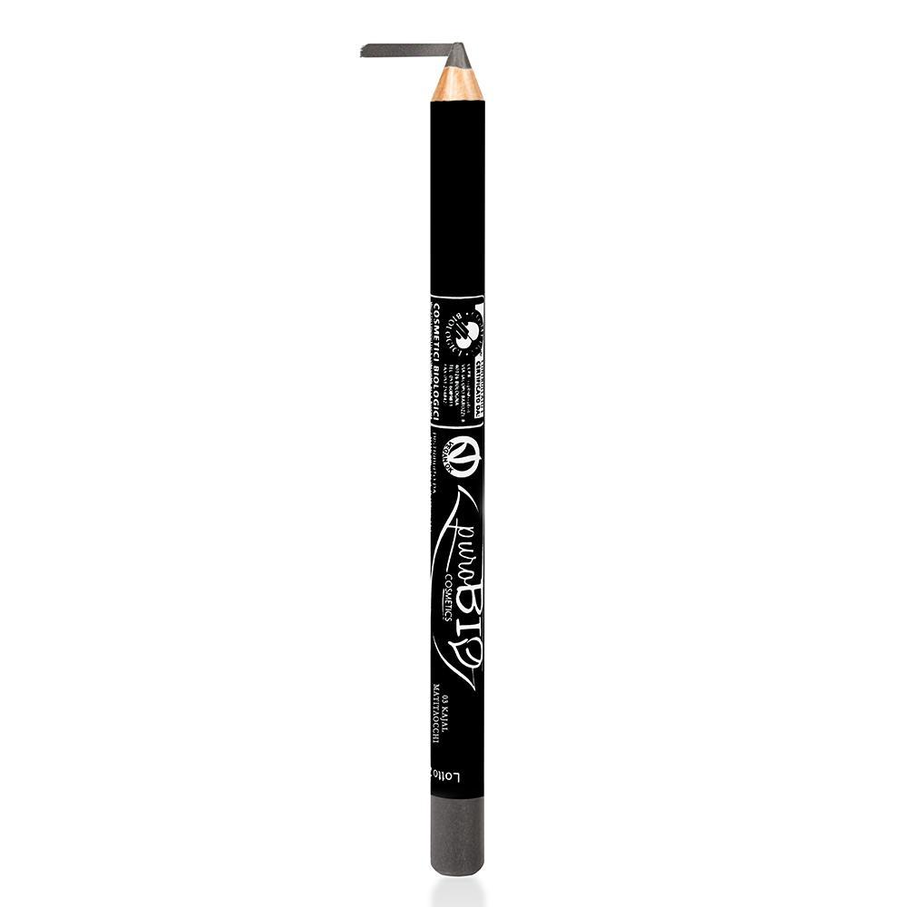 puroBIO cosmetics Tužka na oči 03 Gray 1,3 g