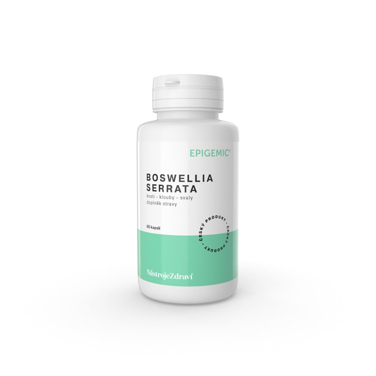 Epigemic Boswellia Serrata, kapsle 90 ks, 38 g