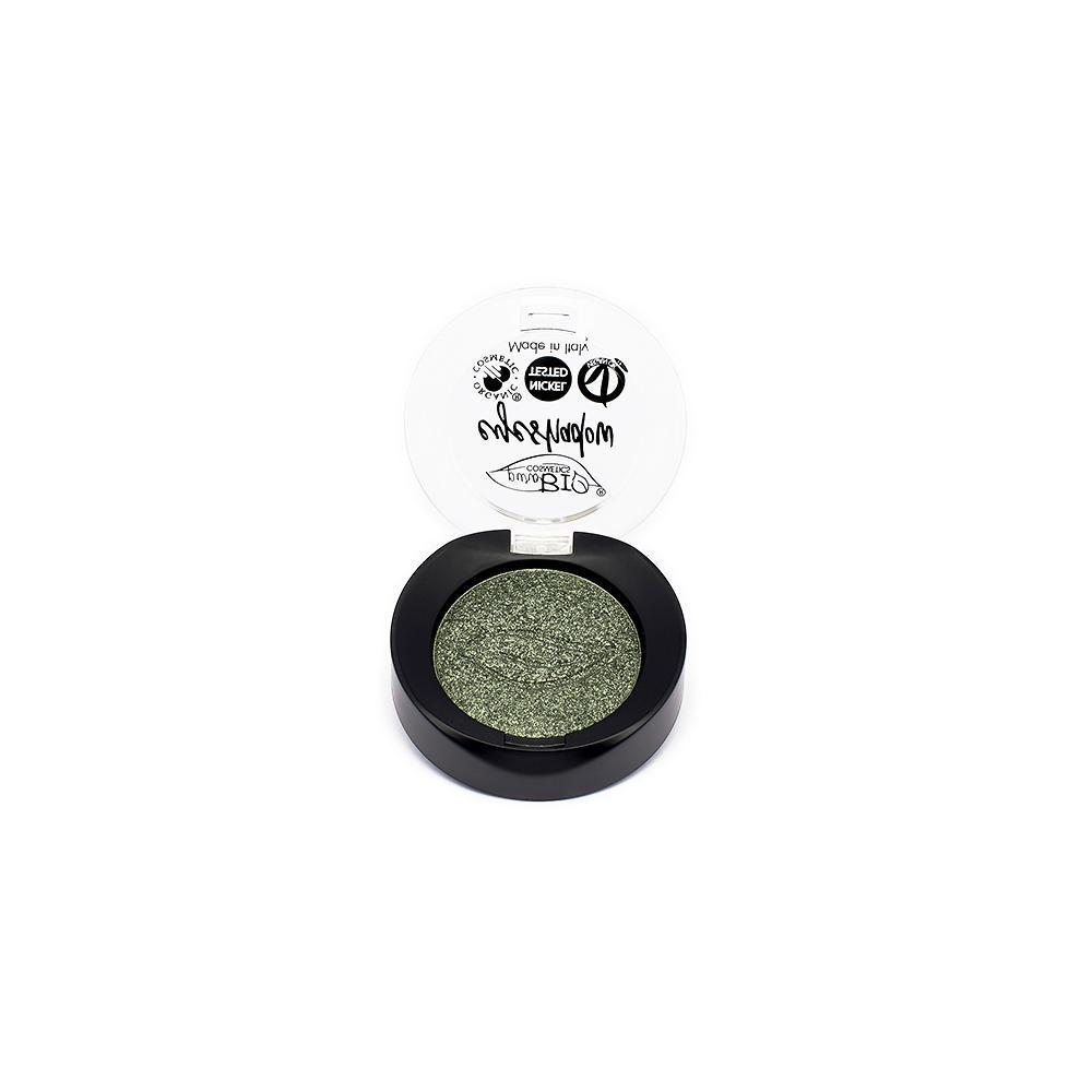 puroBIO cosmetics Minerální oční stíny 22 Green Moss 2,5 g