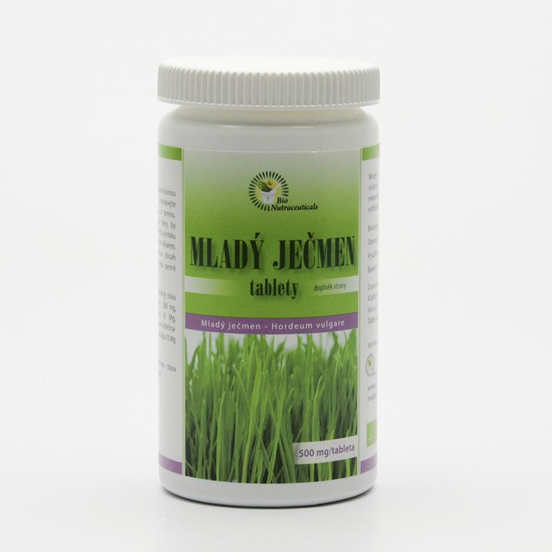 Bio Nutracare Mladý ječmen, tablety 120 tablet, 60 g