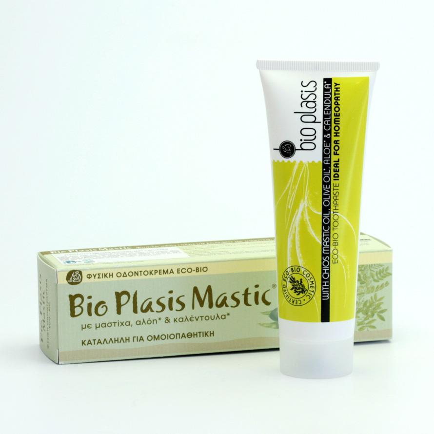 bio plasis Zubní pasta s mastichou, aloe 100 g