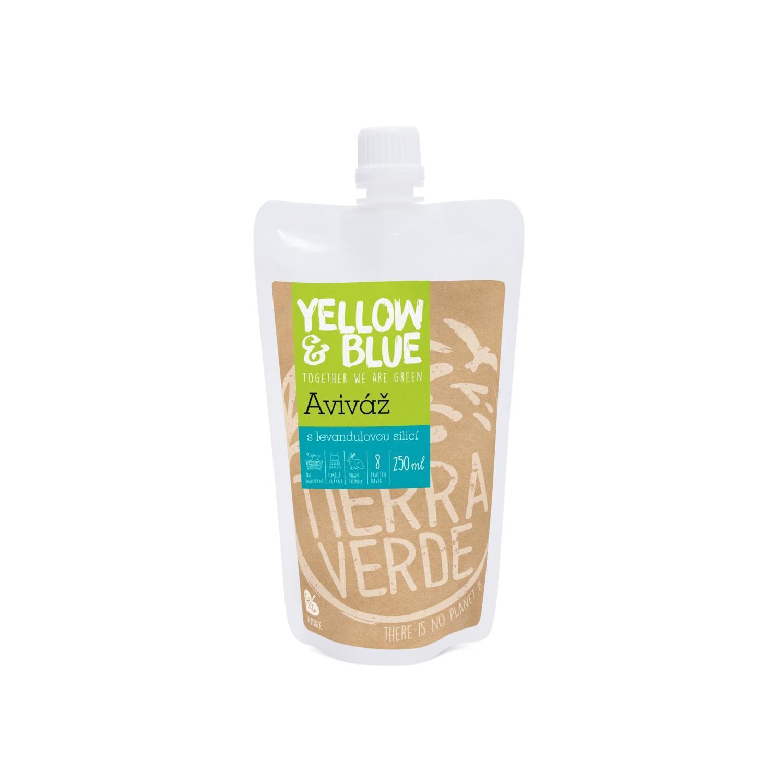 Yellow and Blue Aviváž s levandulovou silicí 250 ml