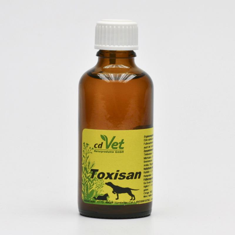 CdVet Čistič orgánů intenzivní, Toxisan 50 ml
