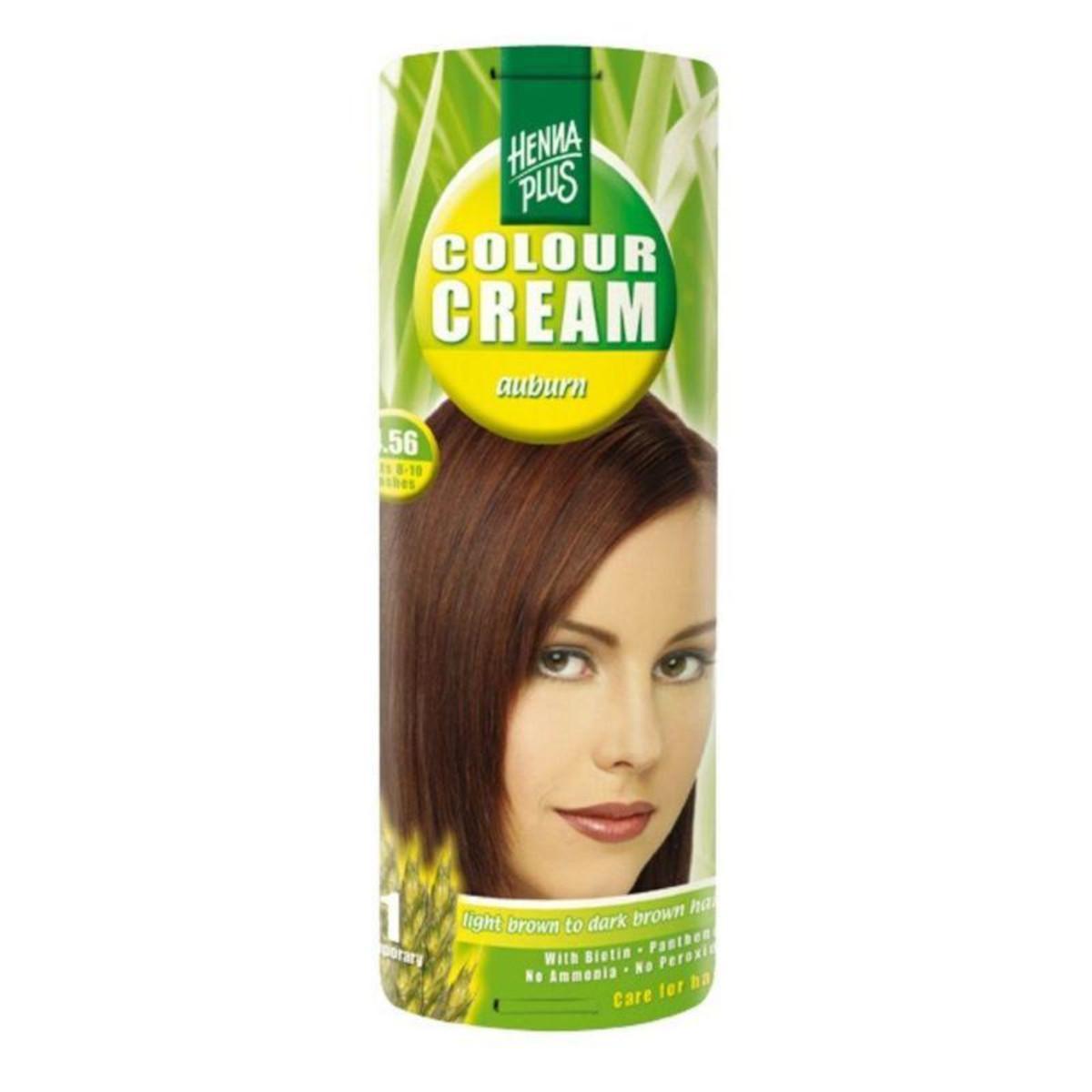 Henna Plus Krémový přeliv Kaštanová 4.56 60 ml
