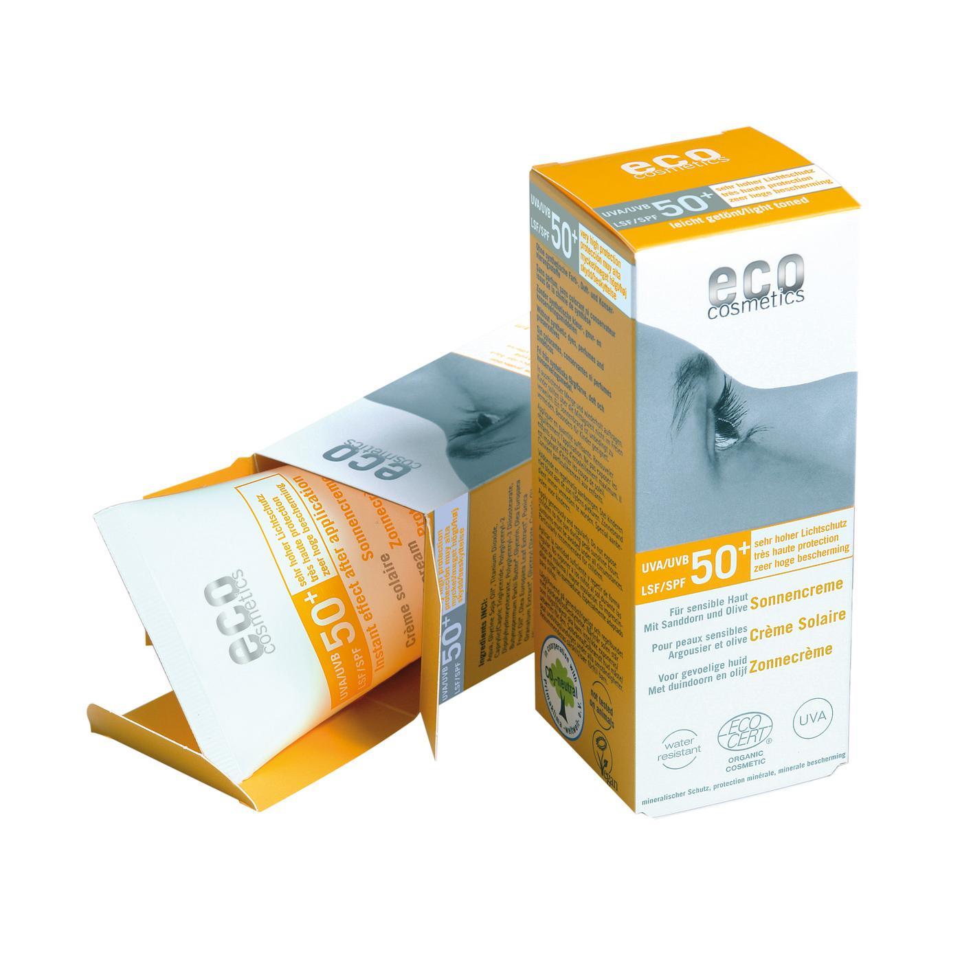 Eco Cosmetics Ochranný sluneční krém SPF 50+ 75 ml