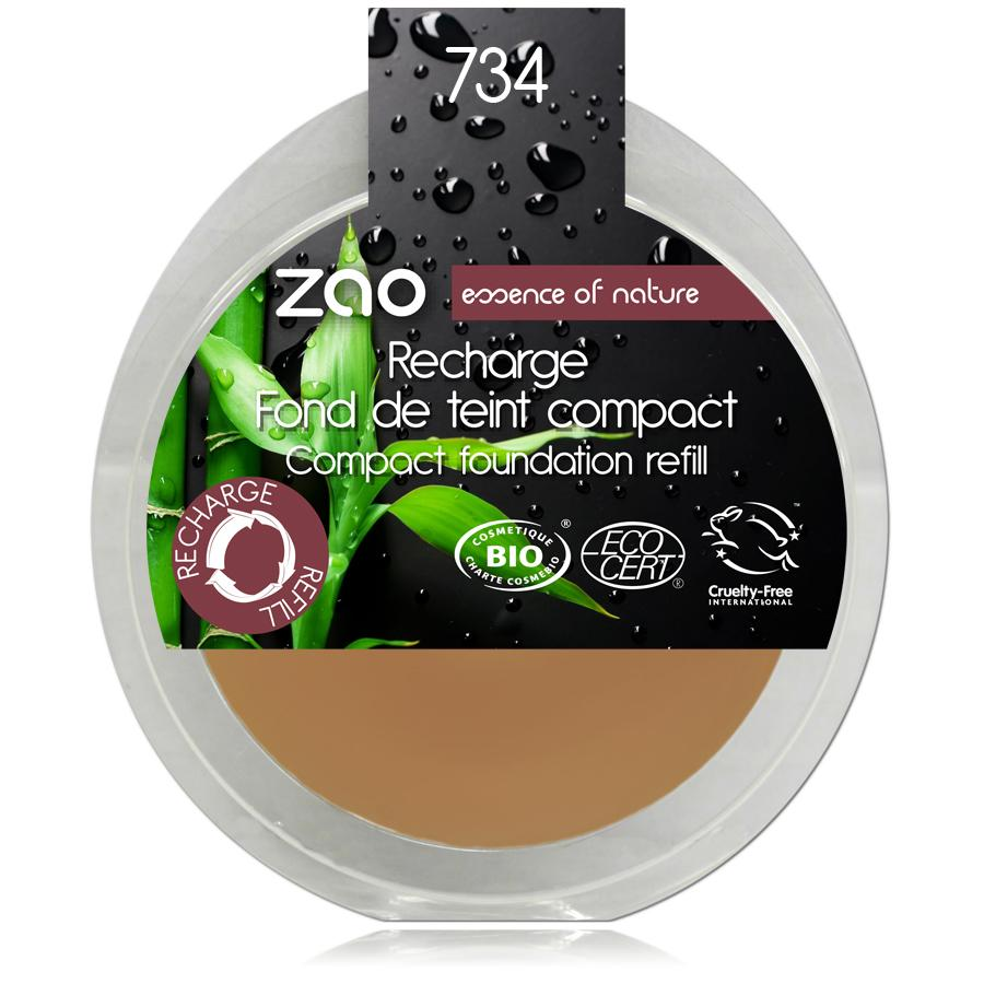 ZAO Kompaktní make-up 734 Capuccino 6 g náplň