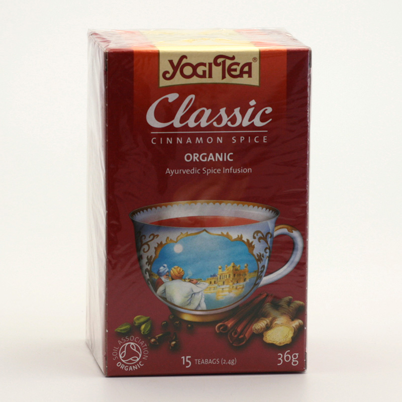 Yogi Tea Čaj Classic Cinnamon Spice 17 ks, 36 g