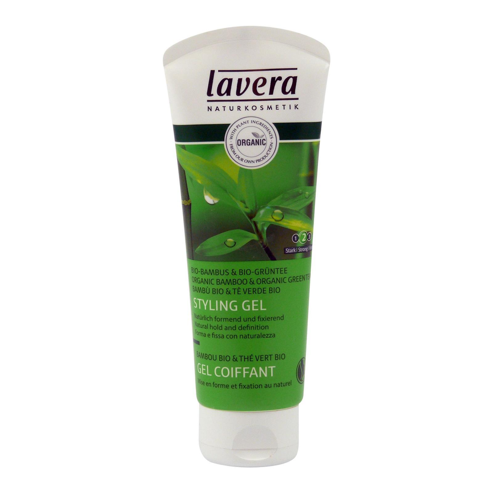 Lavera Vlasový gel stylingový, Hair 100 ml