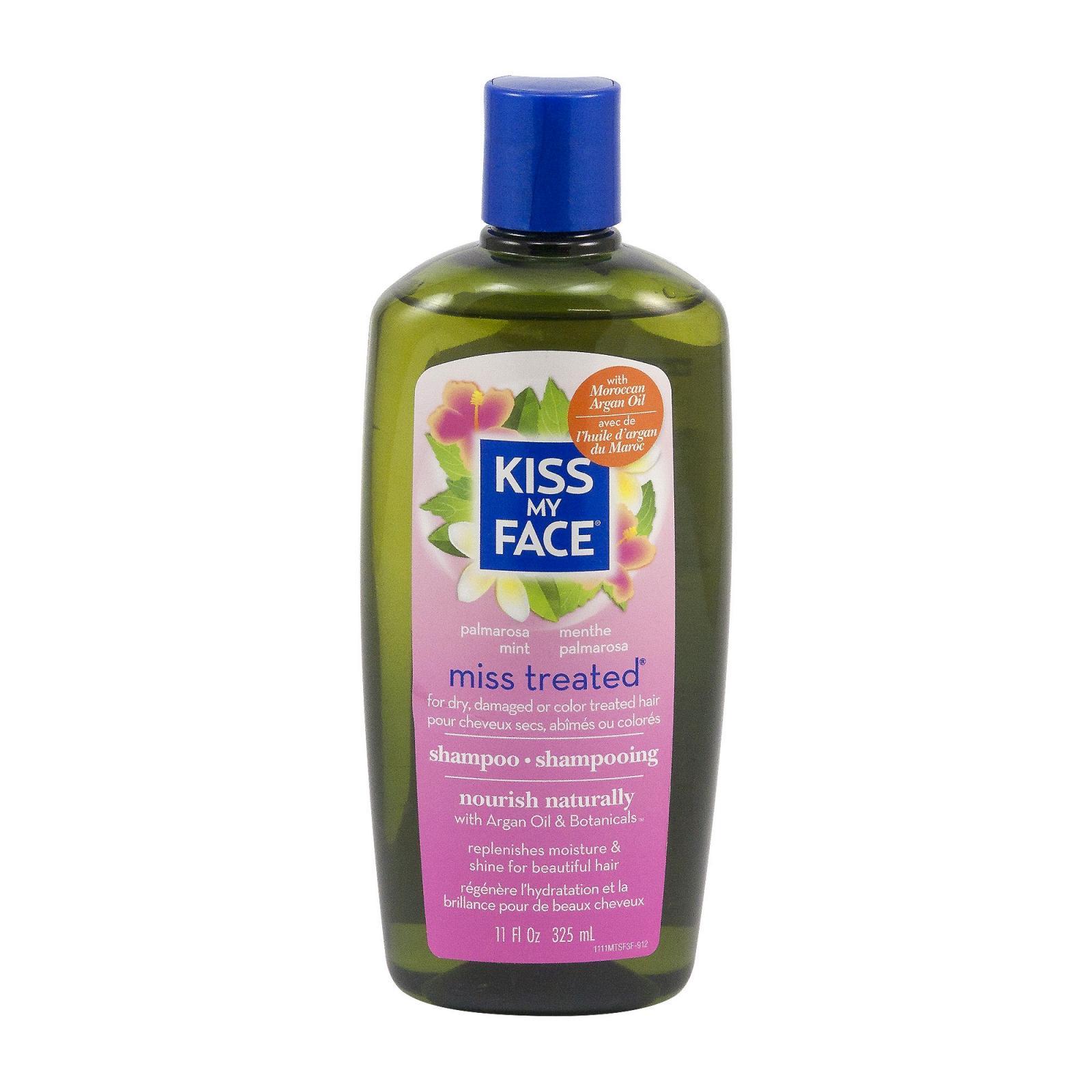 Kiss My Face Corp. Šampon Miss treated, palmarosa a máta 325 ml