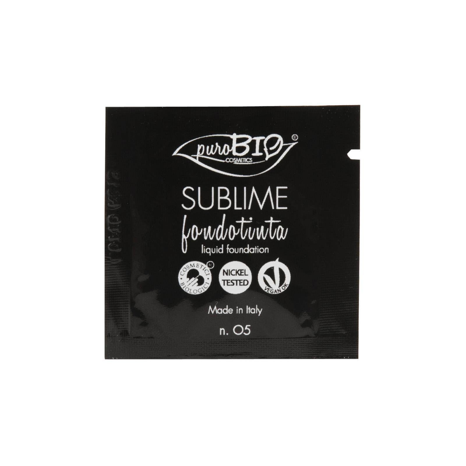 puroBIO cosmetics Tekutý make-up 05 1,5 ml