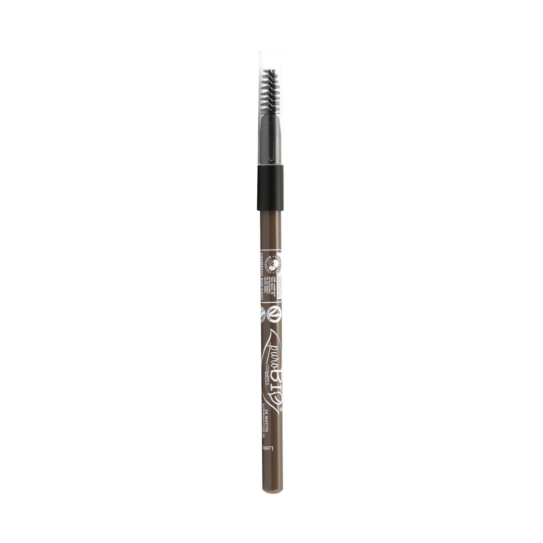 puroBIO cosmetics Tužka na oči a obočí 28 Hard Dove-Gray 1,3 g