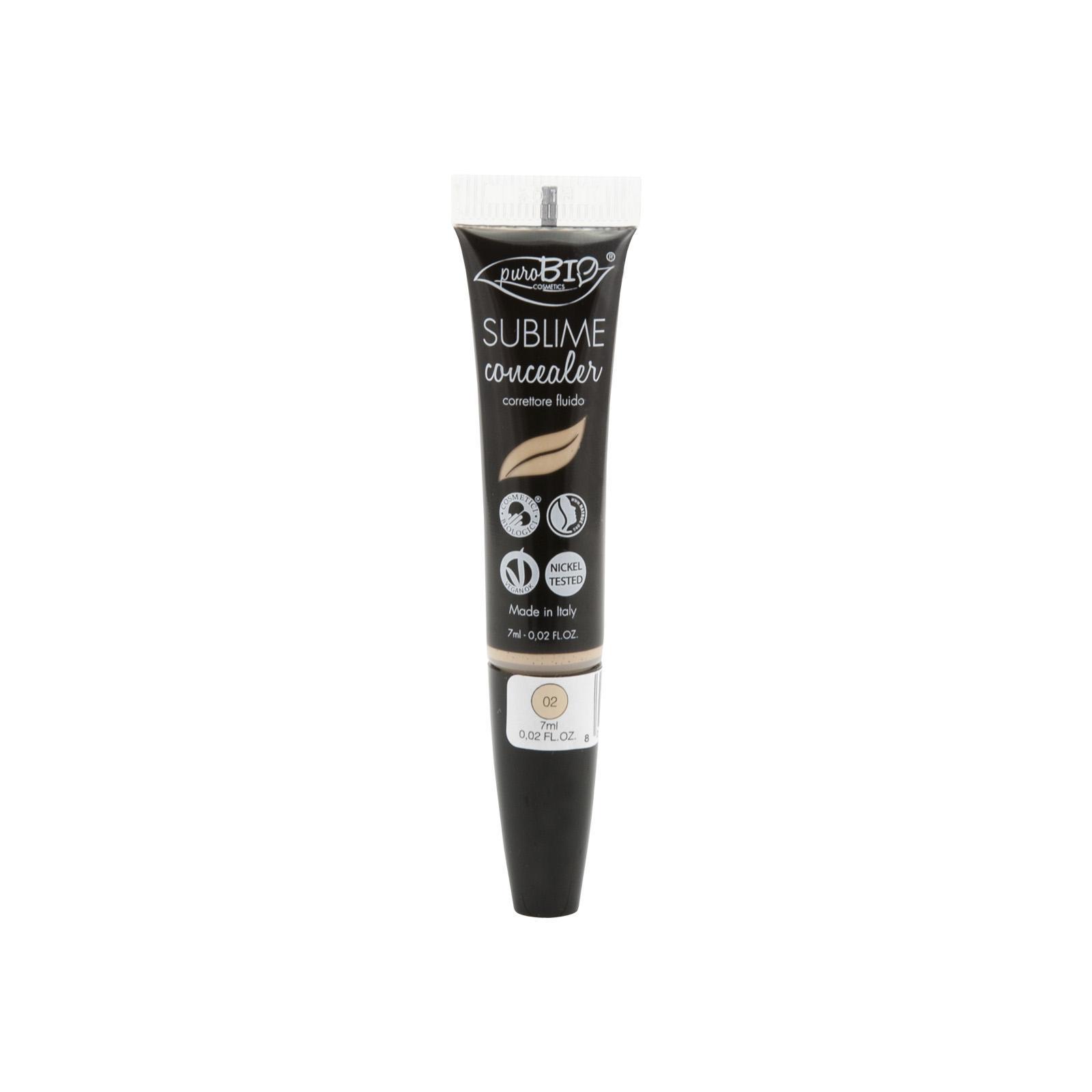 puroBIO cosmetics Korektor tekutý 02 7 ml