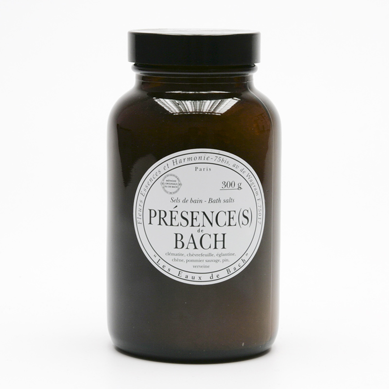 Les Fleurs de Bach Koupelová sůl zklidňující, Présences de Bach 300 g