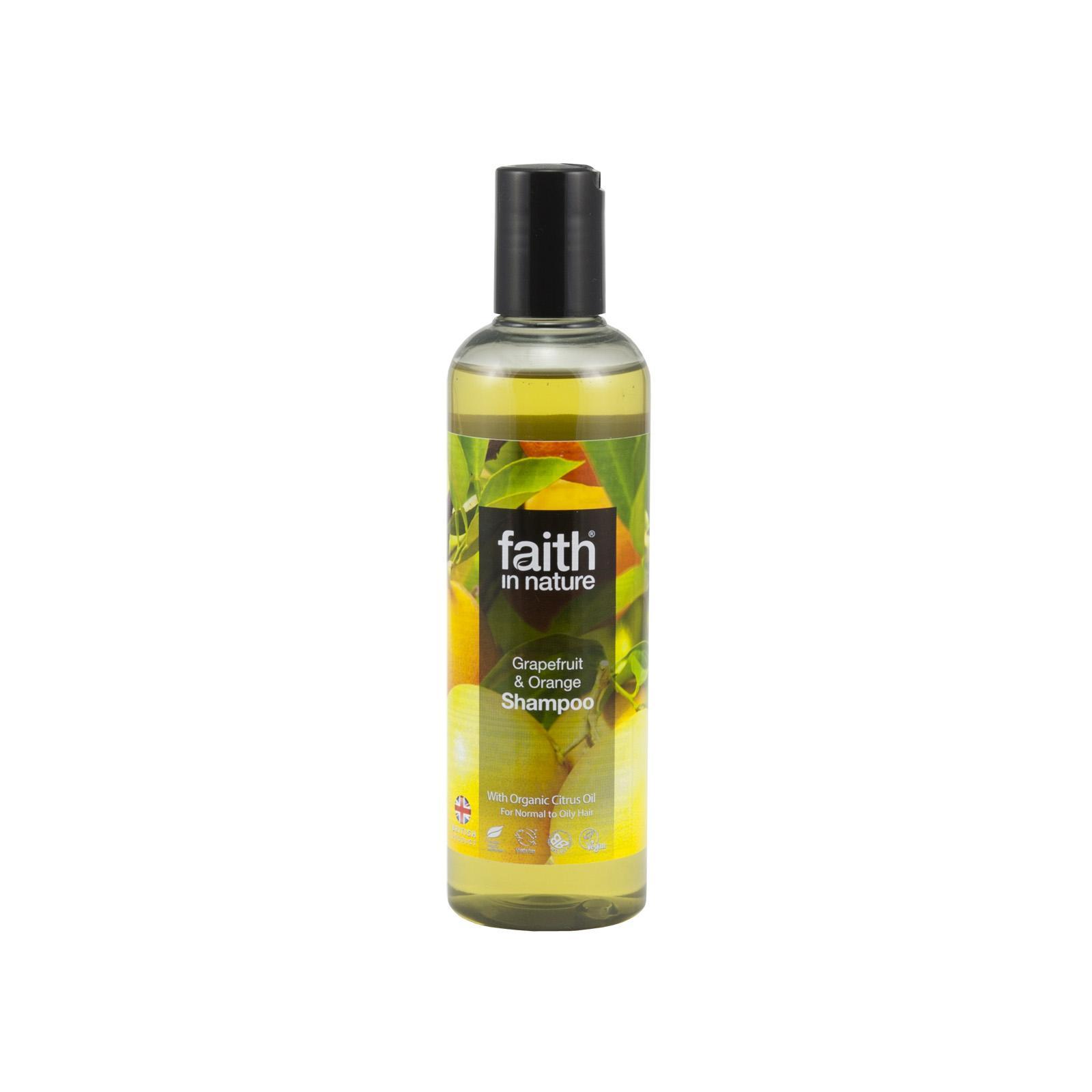 Faith in Nature Šampon grapefruit & pomeranč 250 ml