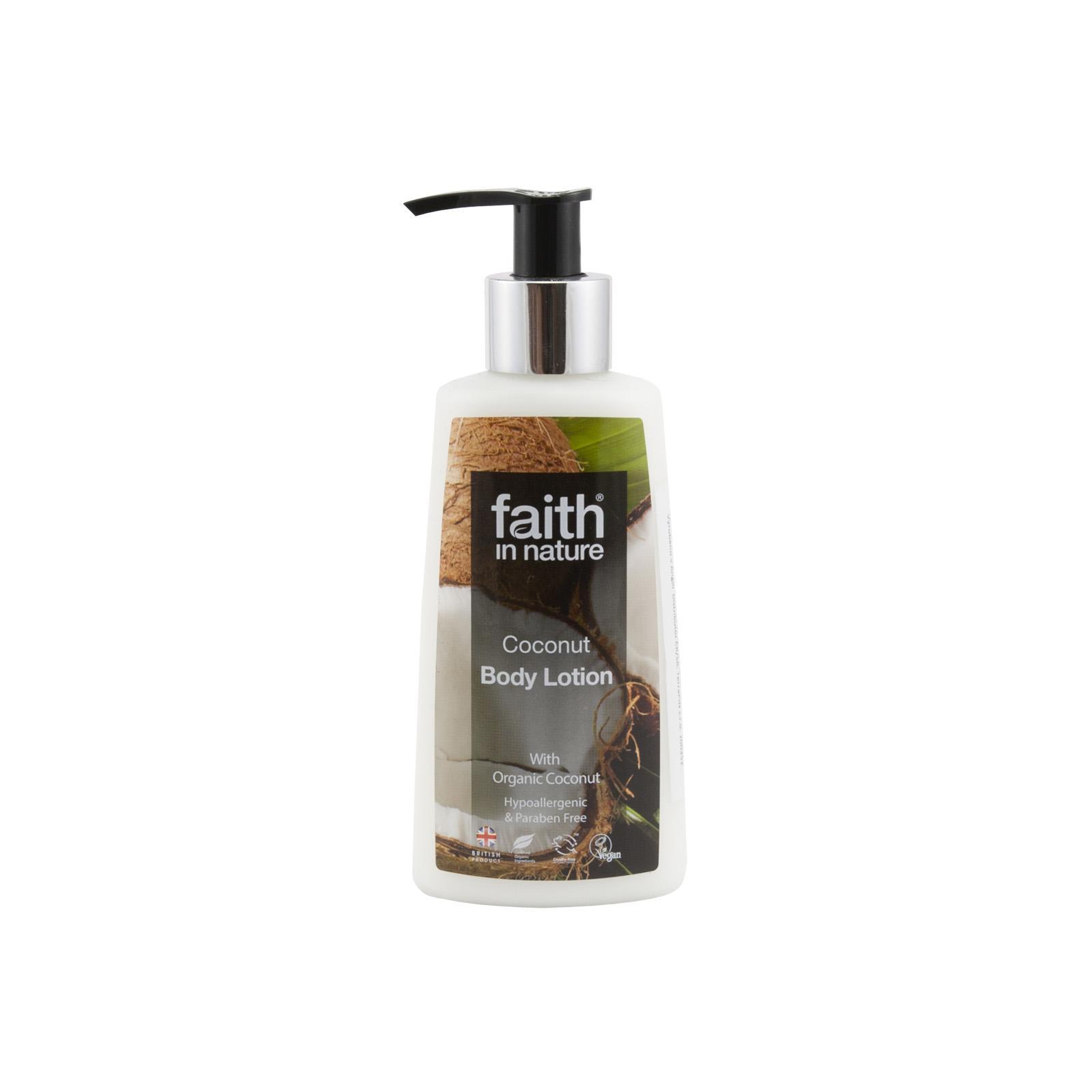 Faith in Nature Tělové mléko kokosové 150 ml