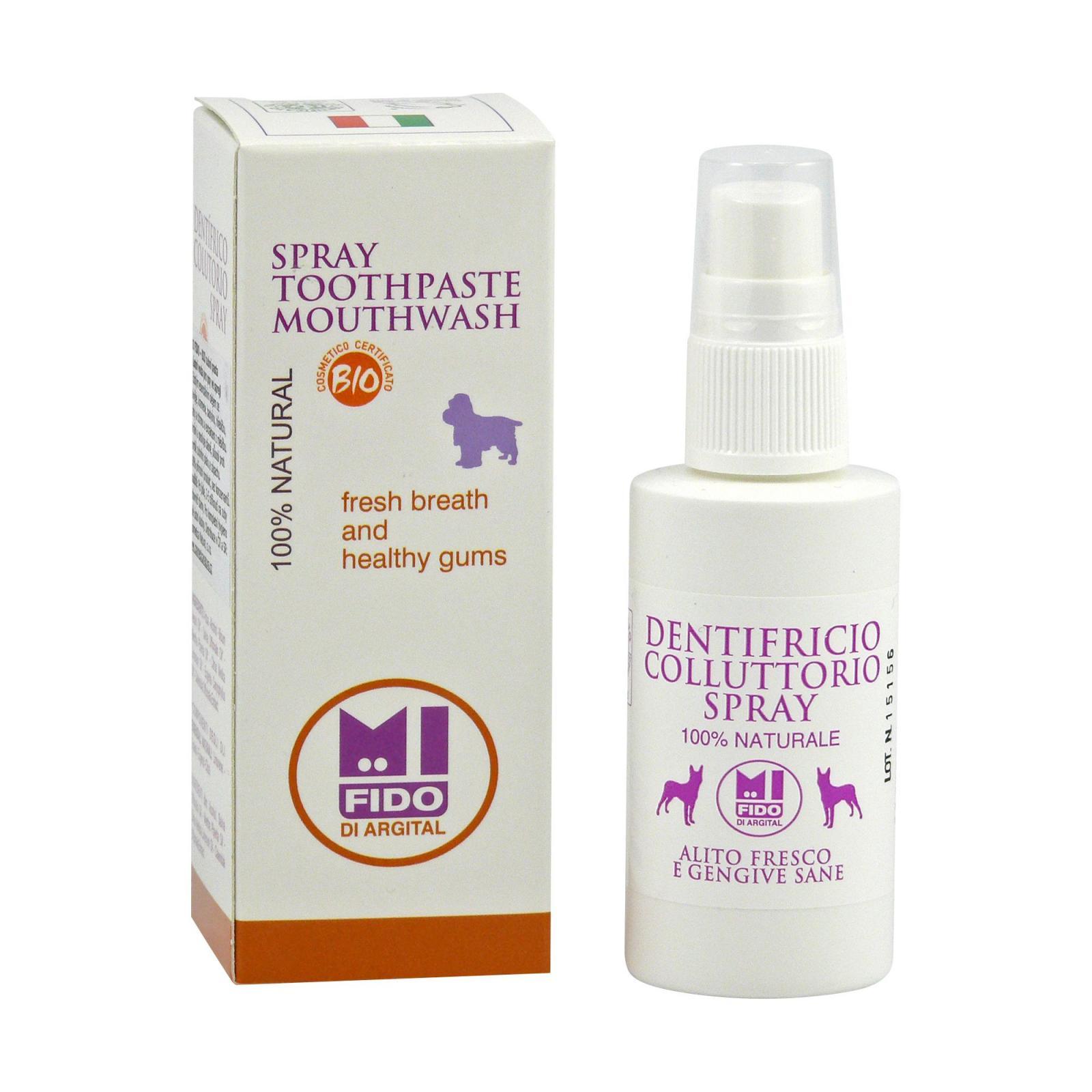 Mi Fido Zubní pasta a ústní voda ve spreji pro psy 50 ml