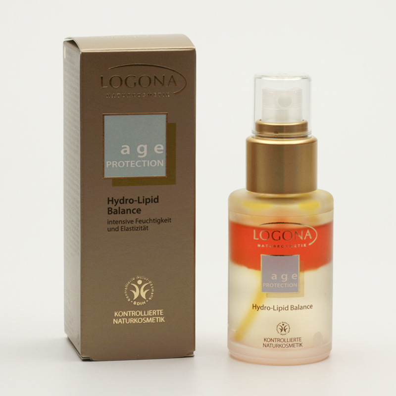 Logona Hydro-lipidní balance, Age Protection 30 ml