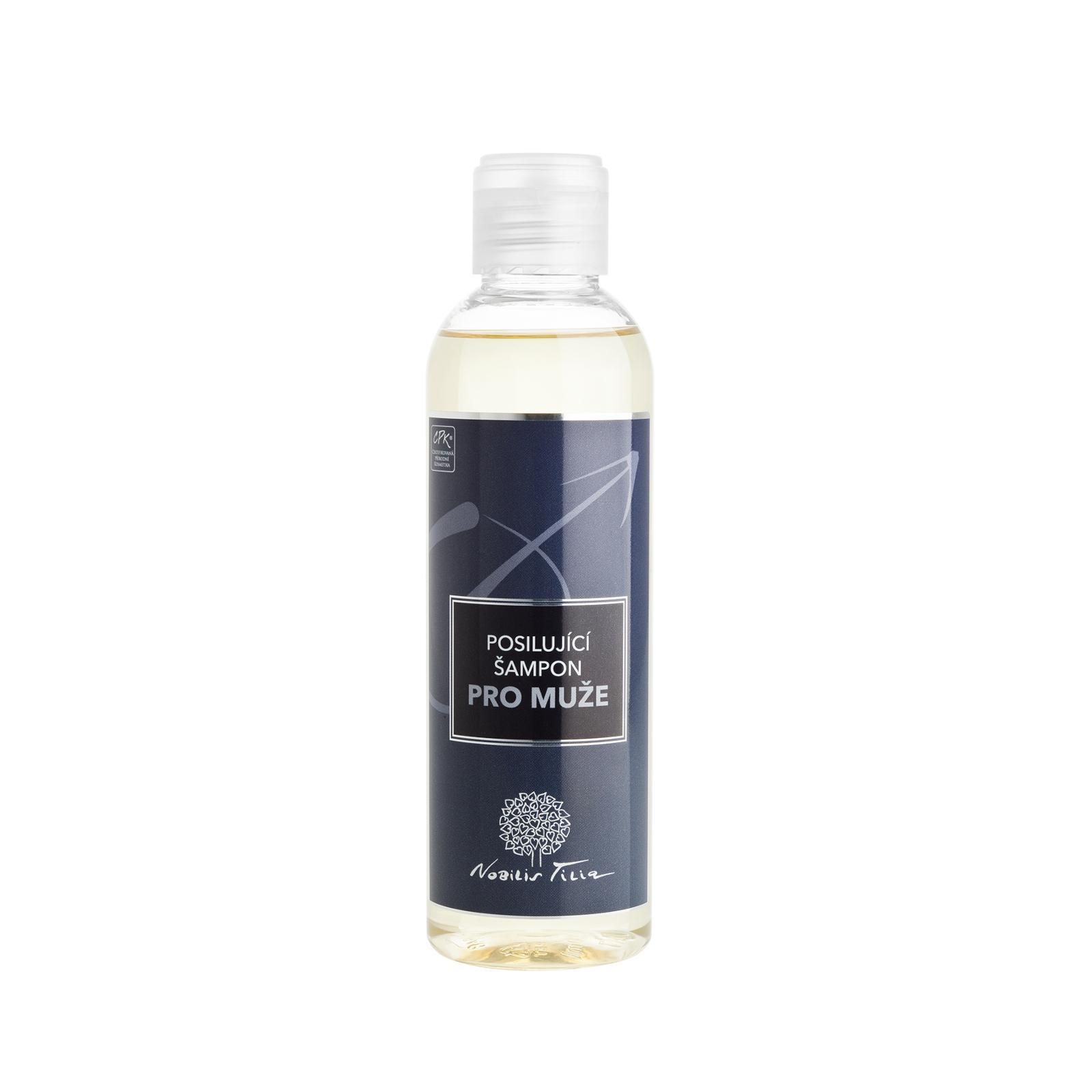 Nobilis Tilia Šampon posilující pro muže 200 ml