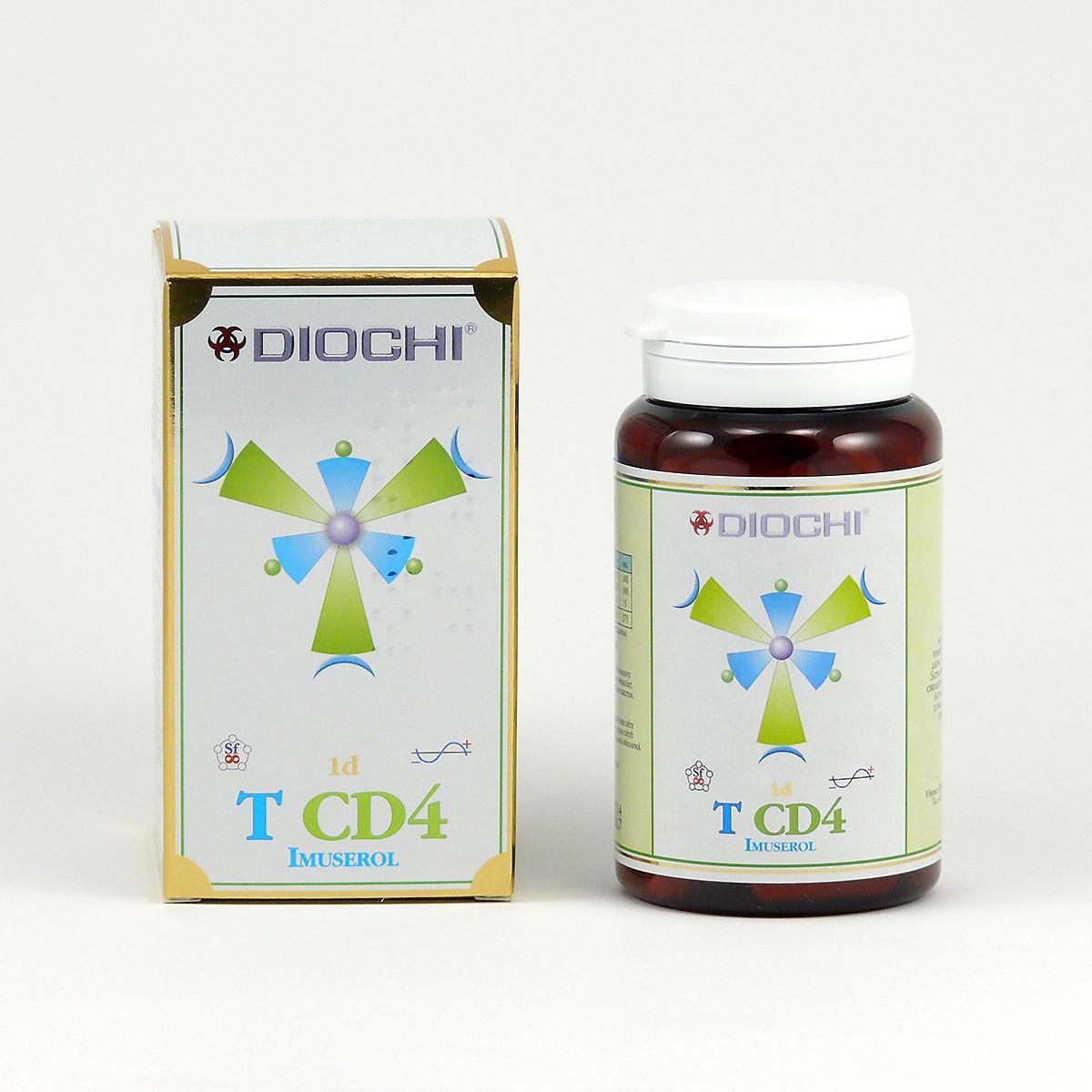 Diochi T CD4 Imuserol, kapsle 80 ks