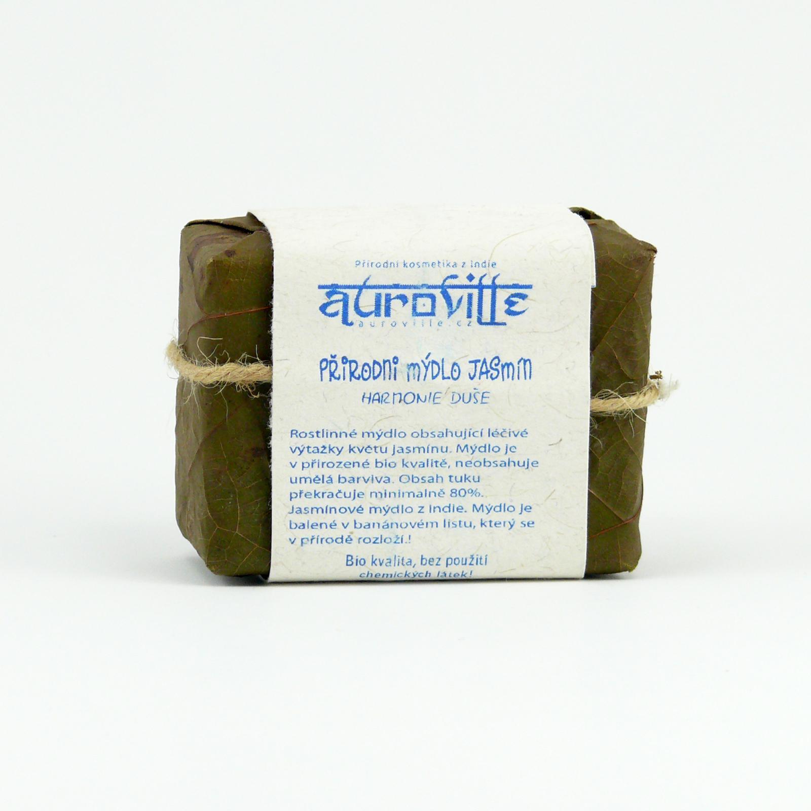 Auroville Mýdlo jasmín, Bon Auroville 100 g