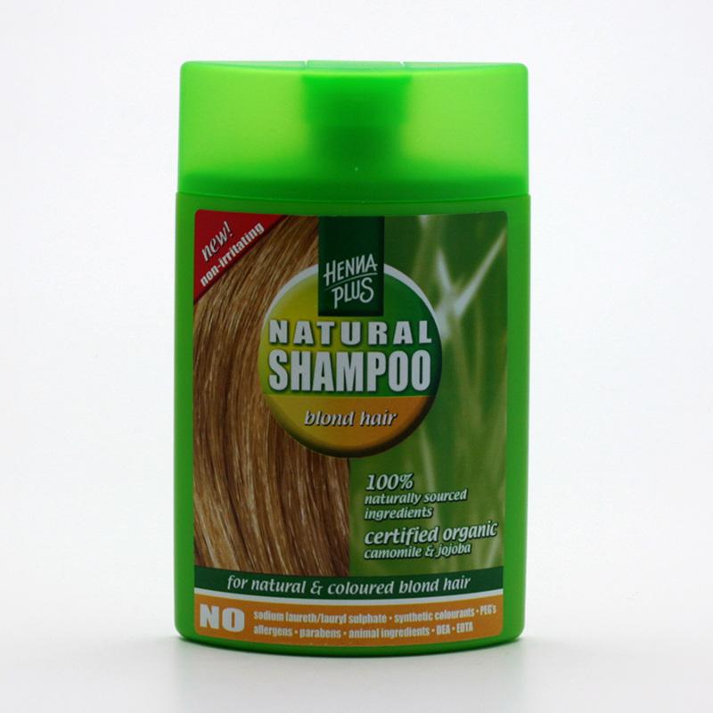Henna Plus x Šampon pro barvené vlasy, odstíny blond 200 ml