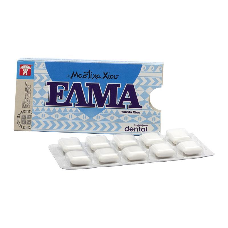 Chios GMGA Žvýkačky s mastichou Elma Dental 14 g, 10 ks