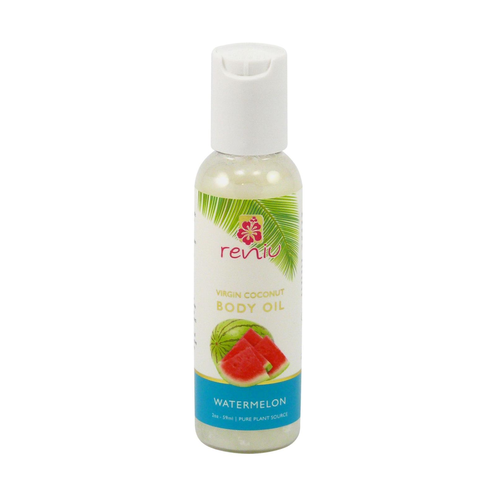 Reniu Fiji Kokosový olej extra panenský, vodní meloun 59 ml