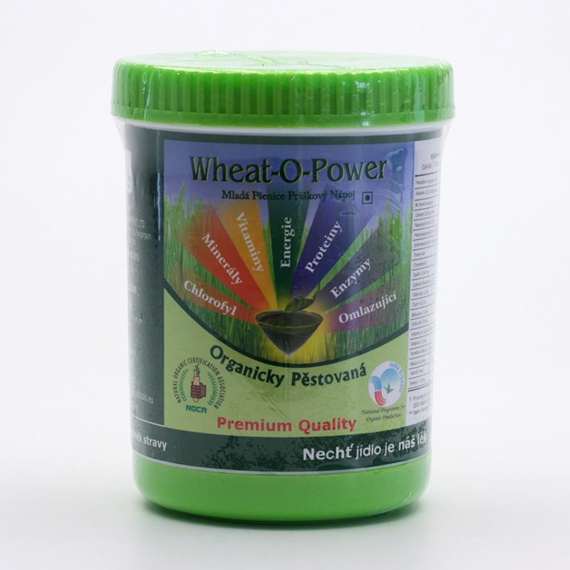 Bio Nutracare Mladá pšenice bio, prášek 80 g