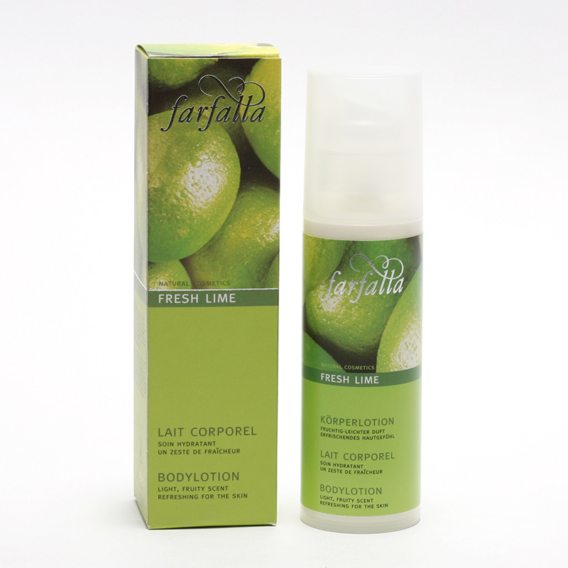 Farfalla Tělové mléko, Fresh Lime 150 ml