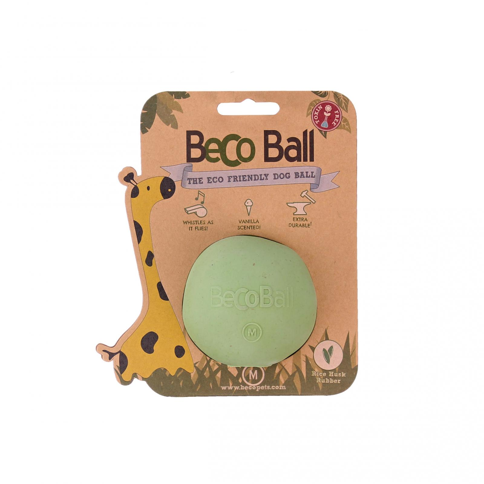 Beco Pets Beco Ball Medium 1 ks, zelená