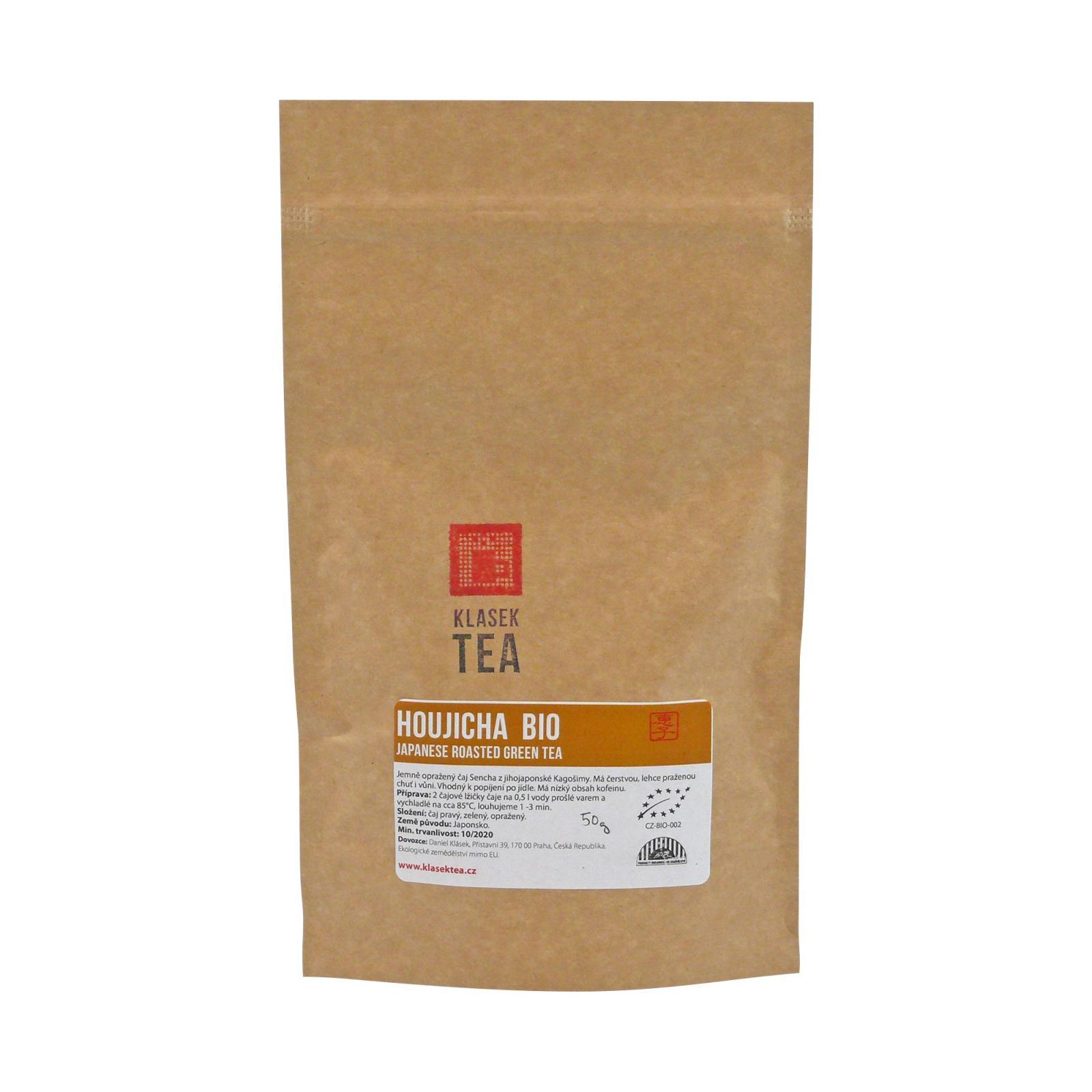 Klasek Tea Zelený čaj Houjicha, bio 50 g
