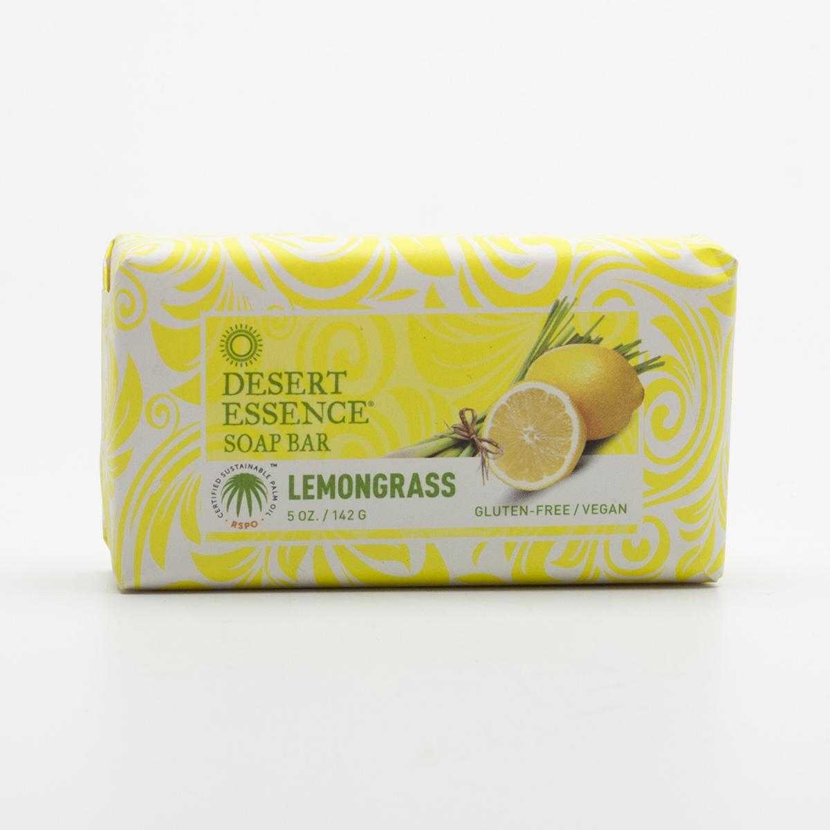Desert Essence Tuhé mýdlo citronová tráva 142 g